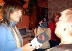 Raquel Aullón entrevistando a ENG, una de los 3 webmaster de esta página